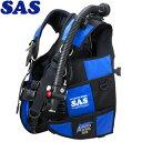 【SAS 】10444 ランドマークXII AACS-1 ブラックシリーズ ブラック/ブルー【送料無料】【10P03Dec16】