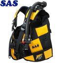 【SAS 】10444 ランドマークXII AACS-1 ブラックシリーズ ブラック/イエロー【送料無料】【10P03Dec16】