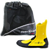 AQUALUNG(水中呼吸器)ERGO Boots erugo 靴子 (黄色)【yo-ko0914】[AQUALUNG(アクアラング) ERGO Boots エルゴ ブーツ (イエロー) 【yo-ko0914】]