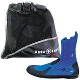 AQUALUNG(水中呼吸器)ERGO Boots erugo 靴子 (蓝色)【10P20Oct14】[AQUALUNG(アクアラング) ERGO Boots エルゴ ブーツ (ブルー) 【10P20Oct14】]