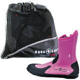 AQUALUNG(水中呼吸器)ERGO Boots erugo 靴子 (粉红色)【10P21Feb15】[AQUALUNG(アクアラング) ERGO Boots エルゴ ブーツ (ピンク) 【10P21Feb15】]