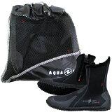 AQUALUNG(水中呼吸器)ERGO Boots erugo 靴子 (黑)【10P06May15】[AQUALUNG(アクアラング) ERGO Boots エルゴ ブーツ (ブラック) 【10P06May15】]
