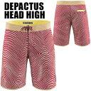 DEPACTUS(ディパクタス) HEAD HIGH [Red Print]