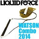 Liquid Force リキッドフォース 2014年モデル WATSON Combo ワトソン コンボ (ハンドル&ラインセット) 好評販売中!【05P17Nov17】
