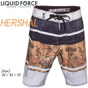 Liquid Force リキッドフォース 2015年モデル HERSHAL BOARDSHORTS 【05P19Aug17】