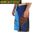 JETPILOT ジェットパイロット 2014年モデル S13931 IMMERSED MENS 3 IN 1 RIDESHORT (Blue) 【05P25May17】