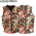 【Liquid Force リキッドフォース】 2017年モデル Z-CARDIGAN COMP VEST ジップ カーディガンCOMPベスト [フローラル] 【02P20Oct18】