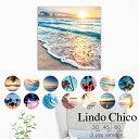 Lindo Chico Mサイズ ウォールパネル ハワイ ビーチ 西海岸 カンクン surf 海岸 夏 ca