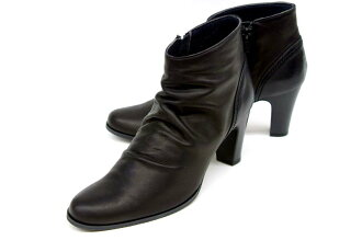 Stylish ankle-length boots 7701 BL FIZZREEN フィズリーン soft leather