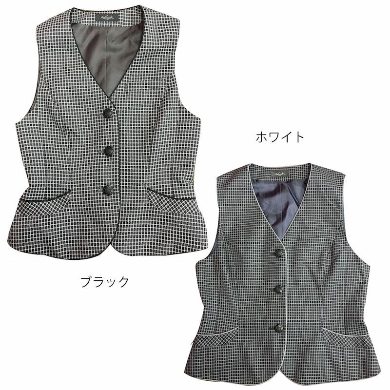 【ハイナック】事務服 ベスト OL制服 企業制...の紹介画像2