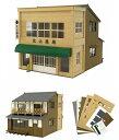 街角のお店-8(ペーパークラフト)【さんけい MK05-40】「鉄道模型HOゲージストラクチャー」