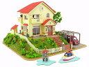 宗介とポニョの家 (映画「崖の上のポニョ」)(ペーパークラフト)【さんけい MK07-08】「鉄道模型Nゲージストラクチャー」