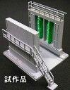 車両洗浄機(大型・ライトグリーン)セット 【グリーンマックス・2810】「鉄道模型 Nゲージ GREENMAX」