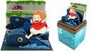 水魚の上を走るポニョ (映画「崖の上のポニョ」)【さんけい・MP07-39】「鉄道模型Nゲージストラクチャー」