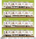 東武10000系4輌編成セット(未塗装組立キット)【グリーンマックス 416】「鉄道模型 Nゲージ GREENMAX」