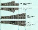 手動ポイント6番(右)【KATO・HO・2-863】「鉄道模型 HOゲージ カトー」