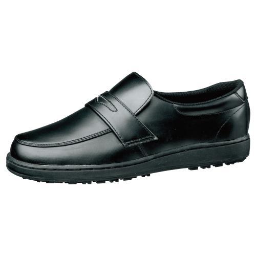 【楽天ランキング1位】 ミドリ安全 滑りにくい靴 男女兼用 超耐滑 ハイグリップ H230D ブラック