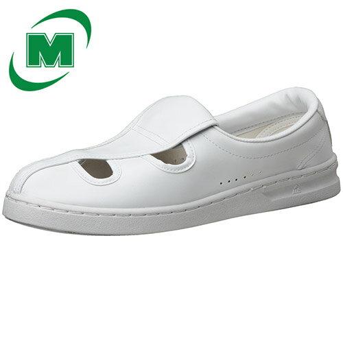 【楽天ランキング1位】 静電作業靴 スリッポン ミドリ安全 男女兼用 メンズ対応可 エレパス 《IEC規格準拠:クリーンエリア用》M102 [静電靴 静電気防止 静電気除去 帯電防止] ホワイト