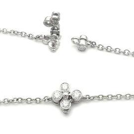 【緑屋質屋】ティファニーレースダイヤモンドコレクションネックレスPt950【中古】【smtb-s】