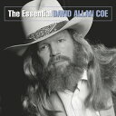 輸入盤 DAVID ALLAN COE / ESSENTIAL DAVIA ALLEN COE [CD]