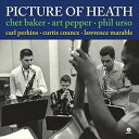 現代 - 輸入盤 CHET BAKER & ART PEPPER / PICTURE OF HEATH + 1 BONUS TRACK [LP]