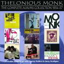 輸入盤 THELONIOUS MONK / COMPLETE ALBUMS COLLECTION 1954 - 1957