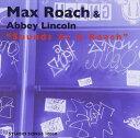 CD - マックス・ローチ&アビー・リンカーン(ds/vo) / サウンズ・アズ・ア・ローチ [CD]