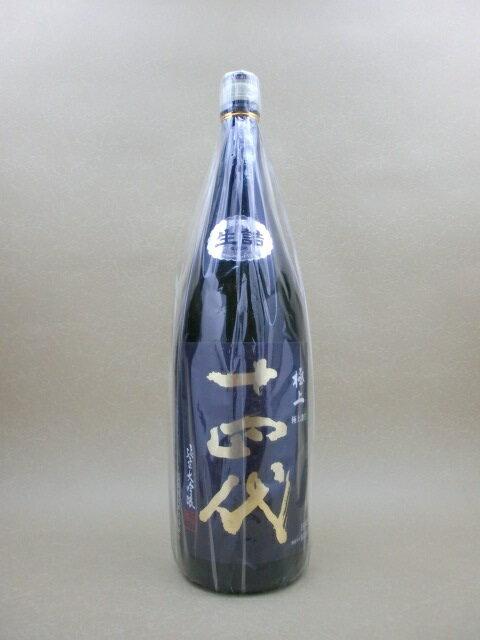 【2018年8月詰】十四代 純米大吟醸 極上諸白 1800ml【高木酒造】【山形県】【日本酒】