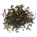 オーガニックスプリングジャスミン 100gマイティーリーフ オーガニック 緑茶 茶葉 リーフティー ジャスミン ブレンド ギフト 大容量