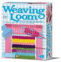 【4M★手作りキットシリーズ】自分好みに作れる♪子供用機織り機(はたおりき)★Weaving Looms!!