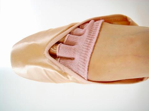 バレエ用品 ☆ バレエシューズやトウシューズの指の痛みを和らげる 『5本指トウパッド 2足…...:mignon:10000226