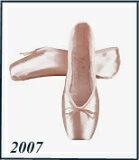 """Gurishiko脚趾的""""2007年的鞋""""?柄M(下正常)[グリシコ トウシューズ 2007 ⇒(シャンクM)<グリシコ各種トウシューズ2足以上の場合、自社配送で♪>]"""