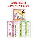 楽天みいちゃんママの英語教室お風呂に貼れるA3フォニックス表とCDのお得な2点セット(発音記号入り)