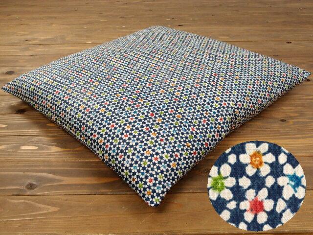 【5枚以上で送料半額10枚以上で送料無料】 日本製 座布団カバー 55×59 銘仙判 綿100% 55×59cm ネコポスにも対応いたします