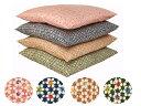 【5枚以上で送料半額10枚以上で送料無料】 日本製 綿100 ちりめん柄 座布団カバー 55×59 銘仙判 ネコポスにも対応いたします