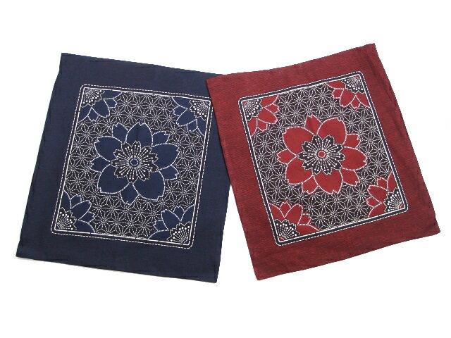 【5枚以上で送料半額10枚以上で送料無料】 日本製 綿100% 座布団カバー 55×59 ネコポス対応