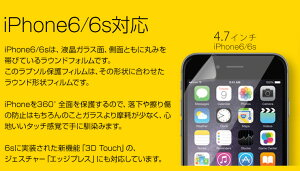 iPhone6iPhone6s360度衝撃吸収フィルム