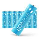 【3%クーポン SALE】【送料無料/ケース付】 充電池 2100mAh 単3 8本 セット エネボルト 電池