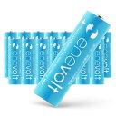 【送料無料/ケース付】 充電池 2100mAh 単3 16本 セット エネボルト 電池