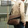 【100周年限定特価】 送料無料口折れショルダー ヴィンテージ メンズ カジュアル A4対応 通学・旅行・自転車にも。/エリック