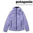 パタゴニア patagonia レディース ナノパフフーディWomen's Nano Puff Hoody 84226 定番