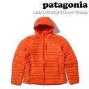 パタゴニア patagonia レディースウルトラライト ダウン フーディLady's Ultralight Down Hoody 84771 おすすめ 定番
