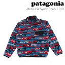 パタゴニア patagonia メンズ ライトウェイトシンチラスナップTプルオーバー Men's Light Weight Synchilla Snap-T P...