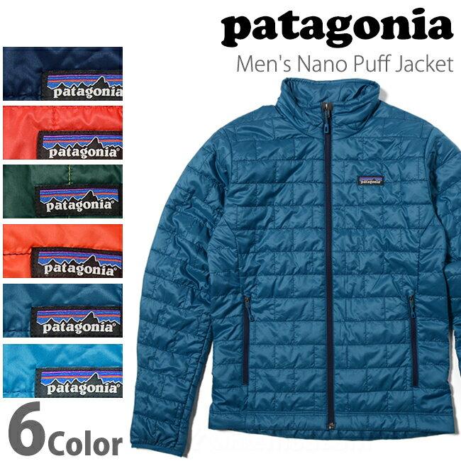 パタゴニア ナノパフジャケット メンズ