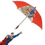 ◎【SUPERMAN 超人】孩子用的伞【腾空球飞行】儿童 少年伞 容积雨伞 umbrella 梅雨[◎【SUPERMAN スーパーマン】 お子様用の傘 【フライ 飛行】 キッズ ジュニア カサ かさ 雨傘 アンブレラ 梅雨]