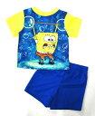 【スポンジボブ/Sponge Bob】キッズ・ジュニア パジャマ『ダンベル/18M』ベビー・子供・こども・男の子・女の子・半そで・アメキャラ・アメリカン雑貨・アメリカ雑貨