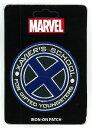 【マーベル/Marvel】ワッペン・パッチ『XAVIER'S SCHOOL 恵まれし子らの学園 ロゴ』プロフェッサーX・アメコミ・アメキャラ・ラウンジフライ