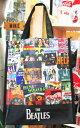 ショッピングエコバッグ 【ビートルズ/The Beatles】ショッパートート『ジャケット S』ショッピングバッグ エコバッグ ミュージシャン アメリカ雑貨 アメリカン雑貨 アーティスト ミュージシャン