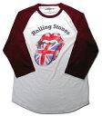 ショッピングsixtones 【ローリング ストーンズ/Rolling Stones】大人・ロングTシャツ『ロゴマーク・擦れ(WH×WR)』海外バンド ロックバンド アメリカン雑貨