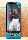 【BRIGITTE/ブリジット】ドールホワイト×ブラック ドレスタカラ・ジェニー・人形・着せ替え人形